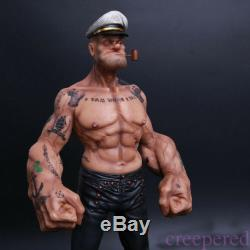 12 Headplay Popeye 1/6 FIGURE The Sailor Resin Statue TATTOO BODY