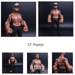 12 Headplay Popeye 1/6 FIGURE The Sailor Resin Statue TATTOO BODY IN STOCK
