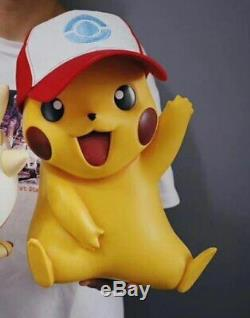 18Pokemon Godio Pikachu 1/1 Full Body Image Figure PVC Statue Birthday Kid Gift