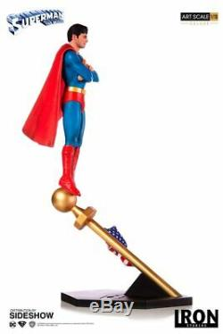 1978 SUPERMAN THE MOVIE STATUE (Deluxe) C Reeves by Iron Studios 110 (US)NEW