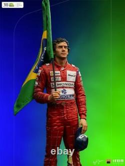 1/10th Iron Studios 1991 Brazilian Grand Prix Ayrton Senna Collectible Statue