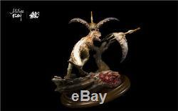 1/35 Carnotaurus Pterosaur Scene Statue Dinosaur Figure Animal Toy Collector GK