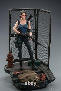 1/4 Jill Valentine Statue FE STUDIOS FE003EX Resin Figure WithBase IronGate Zombie