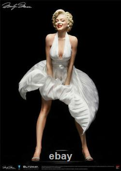 1/4th Marilyn Monroe Statue Figure White Dress Resin Collectible Model Toy