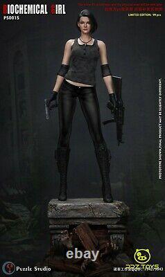 1/4th PUZZLE STUDIO PS001 Resident Evil Statue Jill Valentine Figure Camo. Ver. S
