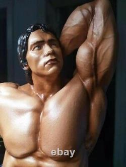 1/6 Famous Arnold Schwarzenegger Bodybuilder Action Figure Statue Unpainted 30cm