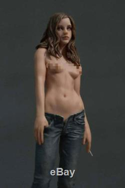1/6 Scale Jeans Girl Model Resin GK Painted Statue Decoration Figure In Stock
