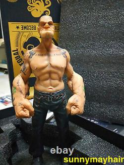 1/6 Scale Popeye Tattoos Popeye the Sailor 12inches Action Figure Statue Model
