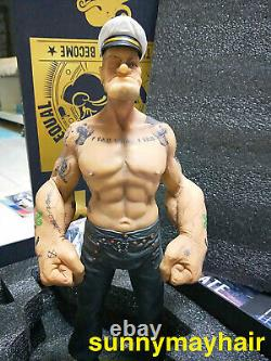 1/6 Scale Popeye US Animation Popeye the Sailor 30cm Action Figure Statue Model