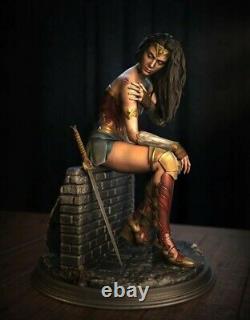 1/6 Wonder Women Action Figure Unpainted Gal Gadot Statue Model Kit 3D Printing