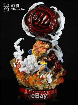 2019 One Piece YU-Studio 4 stalls Monkey D. Luffy resin Statue figure In stock