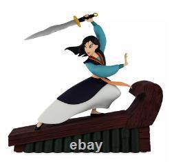 2020 Disney Parks Mulan Resin Figure Statue Disney Fine Art New In Box