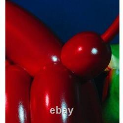 2/Pcs Pooping Balloon Dog Figure Abstract Art Dog Statue Back Huging HypeBeast