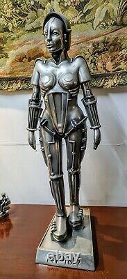 32 Metropolis Maria Figure Statue Fritz Lang Compulsion Gallery Pewter Resin