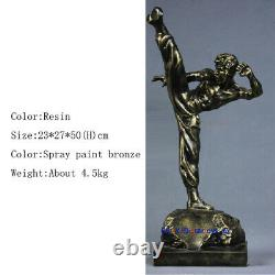 50CM H Bruce Lee 1/4 Statue Resin Model Figure Figurine Collection IN STOCK New
