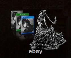 A Plague Tale Amicia & Hugo Rat Premium Statue Figure Silver Edition Premium PS4