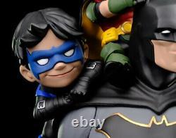 Action Figure Batman Robin Family Statue Model Toy Gift Comics Toy Juguete