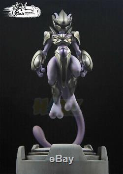 Anime Helmet And Armour Mewtwo Model Resin Statue MF Studio Figure Toy