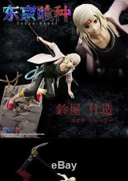 Anime Tokyo Ghoul JUZO SUZUYA / REI Resin GK 1/8 Limited Statue Large Figure New