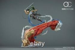 Attack On Titan Levi Vs Female Titan Statue Resin Figure New Oniri. Pre-order