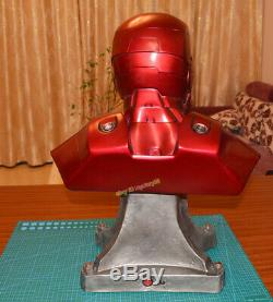 Avengers 11 Iron Man Bust Resin Statue Iron Man MK3 Model Figure In Stock Toys