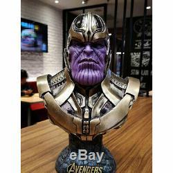 Avengers Infinity War Thanos Figure 1/2 Bust Resin Statue Figure 14'' Model New