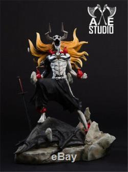 Axe Bleach 1 5 Kurosaki Ichigo GK Resin Figure Battle Diorama Statue Gift 44cm