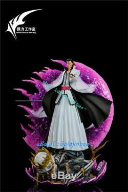 BLEACH Aizen Sousuke Resin Figure Model Painted Statue Pre-order WS-Studio Led