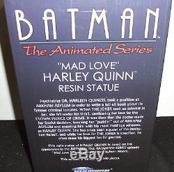 Batman Mad Love Harley Quinn Diamond Select 12 Resin Figure Statue New Nrfb
