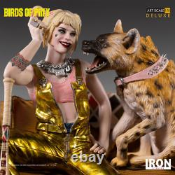 Birds of Prey Harley Quinn & Bruce 110 Scale Statue IRO15487