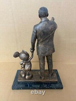 Blaine Gibson Walt Disney Mickey Mouse Cast Resin Bronze Partners Statue Figure