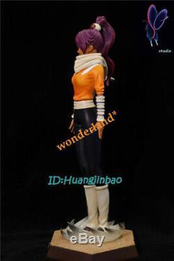 Bleach Shihouin Yoruichi Resin Figure Model Painted Statue SG. Studio 29cm Pre-Or