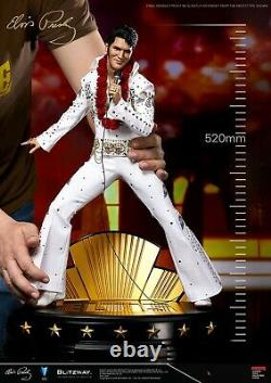 Blitzway 1/4 BW-SS-20701 The King Elvis Presley Figure Statue Collectible Toys
