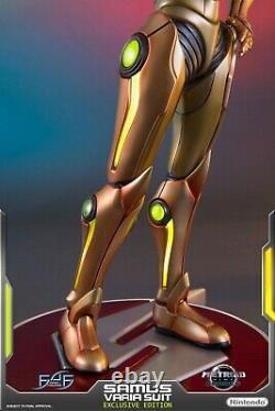 Brand New! First 4 Figures Metroid Samus Varia Suit exclusive EX F4F light up