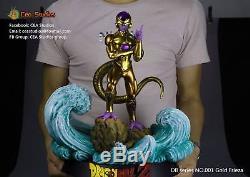 CEA Studio Dragon Ball Z 1/6 Golden Frieza Freeza Resin Statue Figure Super Goku
