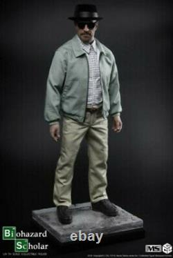 CGL TOYS 14 MS01 Breaking Bad Walter White 20.5 Male Figure Statue Collectible