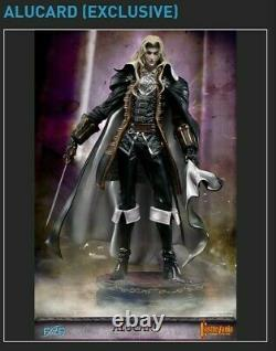 Castlevania Symphony of the Night Alucard Statue 14 Scale Resin First 4 Figures