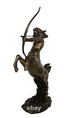 Centaur Cold Cast Bronze Resin statue Part man Part horse Kentauros Mythology