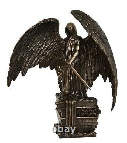 Charon Cold Cast Bronze Resin statue Charontas the Angel of Death in Mythology