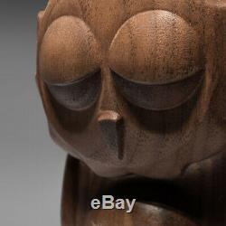 Coarse Coarsetoys Omen Fade Walnut Wood Sculpture 2/30 Limited Statue Figure