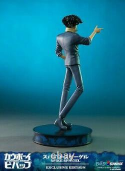 Cowboy Bebop Spike Spiegel EXCLUSIVE Vinyl Statue Figure + Hand Gun BANG Gesture