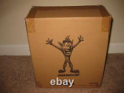 Crash Bandicoot Statue by First 4 Figures PVC Exclusive Day One NEW