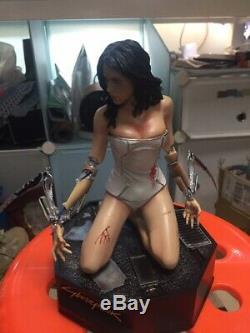 Cyberpunk 2077 Ghost In The Shell Kusanagi Motoko Resin Statue 1/6 Figure