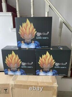 DBZ DragonBall Z SSJ Vegeta 1/6 Resin GK Statue Figure 13inch In BOX