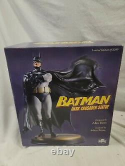 DC COMICS 2007 BATMAN DARK CRUSADER STATUE Alex Ross Figure Knight Returns Joker