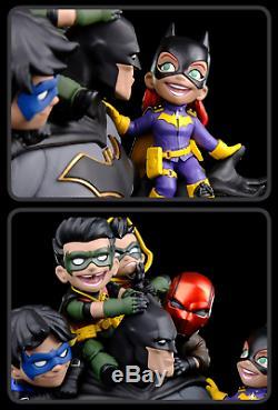 DC Comics Batman Family Q-Master Diorama Statue Figure from Quantum Mechanix NEW