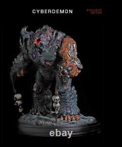 DOOM Cyberdemon Exclusive Edition Classic Eternal 19 Statue Figure Light Up