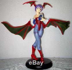 Darkstalkers Lilith Epoch figure statue 1/6 cold cast resin Capcom DAMAGED