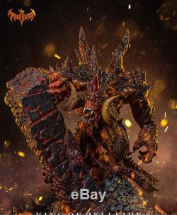 Diablo King of Hellfire Resin GK Limited Statue Collectible LED Action Figures