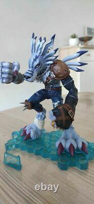 Digimon Adventure Were Garurumon Resin Painted Figure Limited Statue Model N